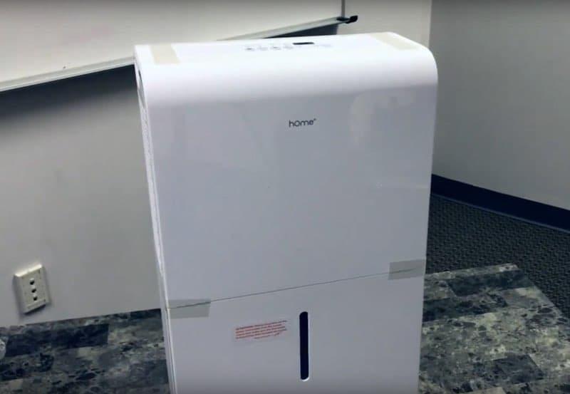 Homelabs Dehumidifier Review: HME020006N (50-Pint