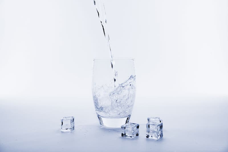 Cold Water With Ice